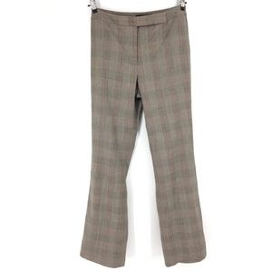 Antonio Melani plaid trousers pants size 8
